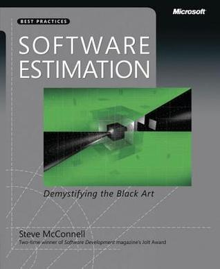 Software Estimation by Steve McConnell