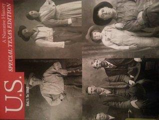 U.S. A Narrative History Vol.1:To 1865 Special Texas Edition
