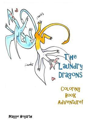The Laundry Dragons' Coloring Book Adventure!