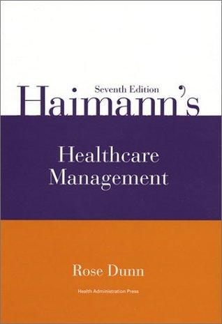 Haimann's Healthcare Management