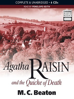 cover Agatha Raisin and the Quiche of Death
