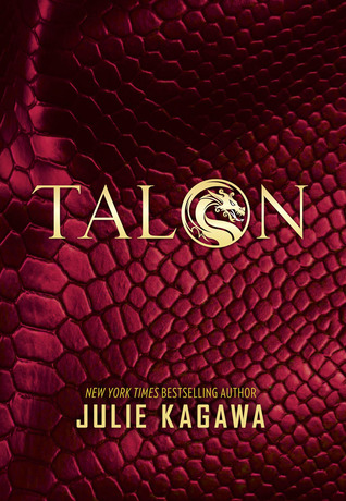 The cover of Talon by Julie Kagawa