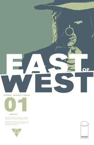 East of West #1 by Jonathan Hickman