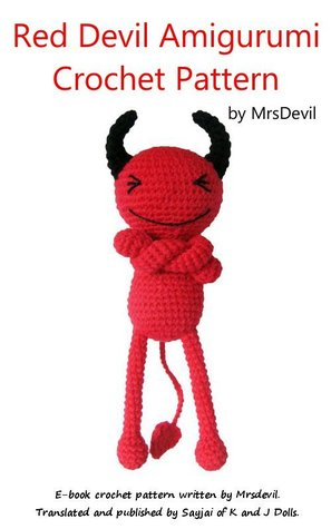 Red Devil Crochet Pattern for Halloween