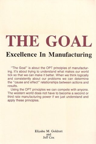 The Goal: Excellence In Manufacturing