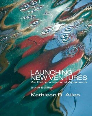 Isbn 9780538481793 launching new ventures: an entrepreneurial.
