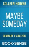 Maybe Someday: by Colleen Hoover | Summary & Analysis