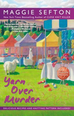 Book Review: Yarn Over Murder by Maggie Sefton