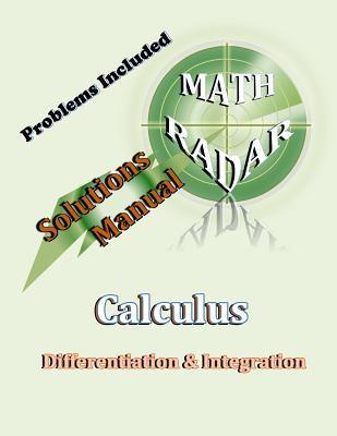 Solutions Manual - Calculus
