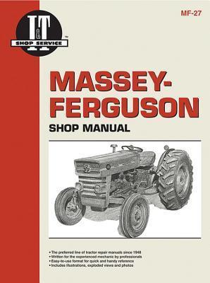 Massey Ferguson Shop Manual Models  MF135 MF150 & MF165