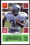 Herschel Walker Dallas Cowboys McDonald's 1986 Football Special Card (Green Tab)
