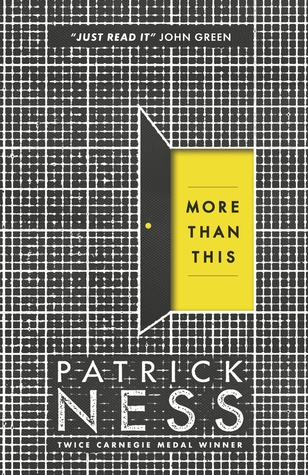Image result for more than this patrick ness
