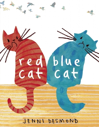 Red Cat, Blue Cat by Jenni Desmond