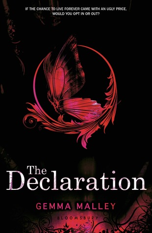 Image result for the declaration by gemma malley