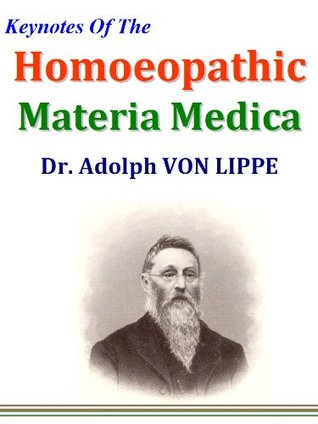 Keynotes Of The Homoeopathic Materia Medica