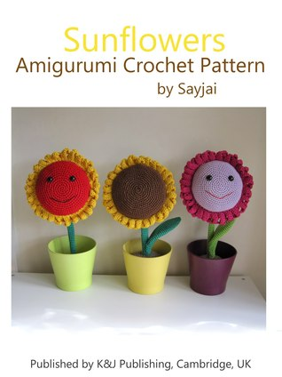 Sunflowers Amigurumi Crochet Pattern