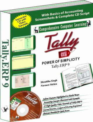 Tally.ERP 9 is the latest ERP offering of the Tally software series.