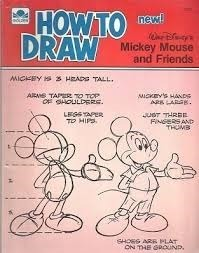 How To Draw Mickey Mouse And Friends