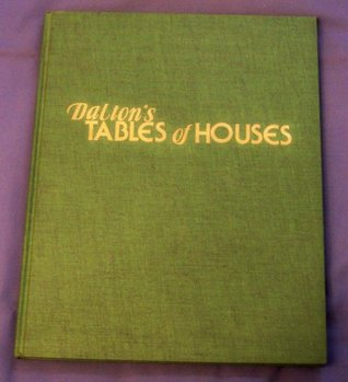 Dalton's Tables of Houses - Spherical Basis of Astrology for Latitudes 22 degrees to 59 degrees O' N.