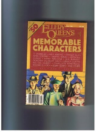 Ellery Queen's Memorable Characters Anthology #50 Fall 1984