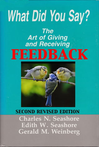 The art of giving and receiving feedback
