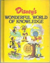 Disney's Wonderful World Of Knowledge Year Book 1985