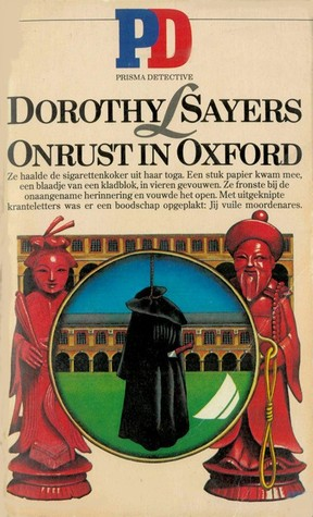 Onrust in Oxford (Lord Peter Wimsey, #12)