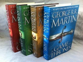 SONG OF ICE AND FIRE Set George R. R. Martin: Song of Ice and Fire series 4-Volume set