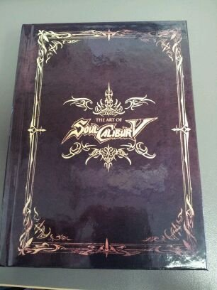 The Art of Soul Calibur V with Limited Edition Soundtrack