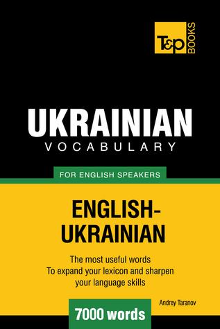Ukrainian vocabulary for English speakers: 7000 words