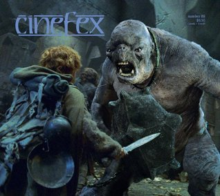 Cinefex Number 89 (Articles on Lord of the Rings, Black Hawk Down, Time Machine and other films, # 89 April 2002)