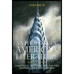 Anthology of American Literature Volume II by McMichael,George; Leonard,James S.. [2007,9th Edition.] Paperback