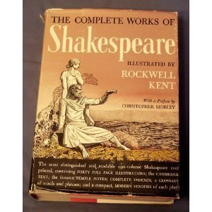 THE COMPLETE WORKS OF WILLIAM SHAKESPEARE / ROCKWELL KENT ILLUSTRATIONS 1936