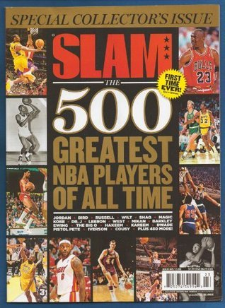 SLAM MAGAZINES 500 GREATEST PLAYERS OF ALL TIME! JORDAN #1NEW