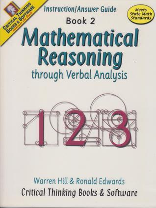 Mathematical Reasoning Through Verbal Analysis Book 2 Instruction/Answer Guide