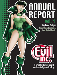 Evil inc. annual report, volume 4 by Brad Guigar