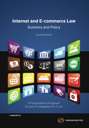 Internet and E-commerce Law Business and Policy