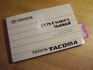 1998 Toyota Tacoma Owners Manual
