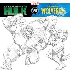 The Incredible Hulk vs. Wolverine