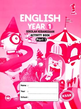 English Year 1 SK Part 1 - Activity Book | Free online tool eBooks
