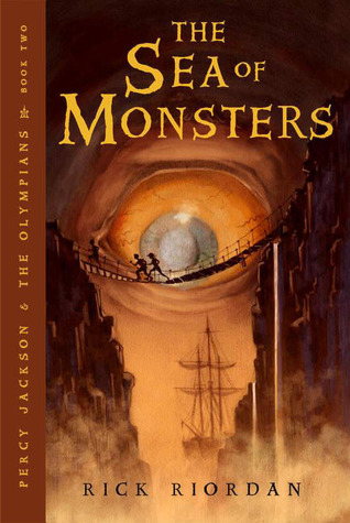 Book Review: Rick Riordan's The Sea of Monsters