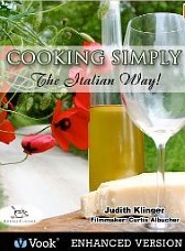 Cooking Simply: The Italian Way! [Kindle Edition with Audio/Video]