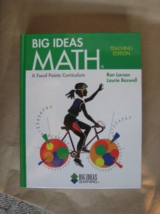 Big Ideas Math: Teacher's Edition Green 2010