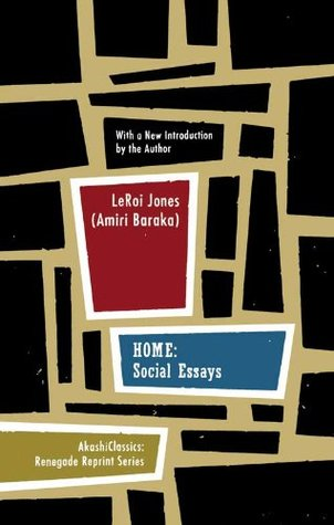 home social essays by amiri baraka