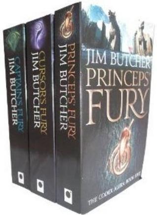 Cursor's Fury / Captain's Fury / Princeps' Fury (Codex Alera, #3-5) - 3 Books Collection Set)