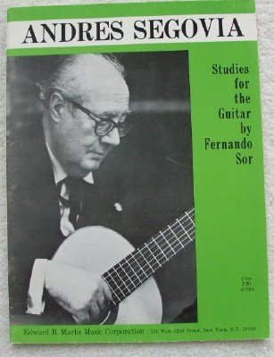 Twenty Studies for the Guitar by Fernando Sor
