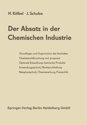 Der Absatz in Der Chemischen Industrie