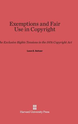 Exemptions and Fair Use in Copyright