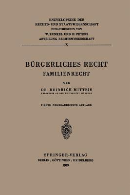 Burgerliches Recht: Familienrecht