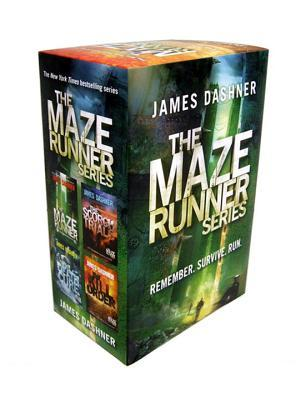 The Maze Runner Series  (The Maze Runner #1-4)